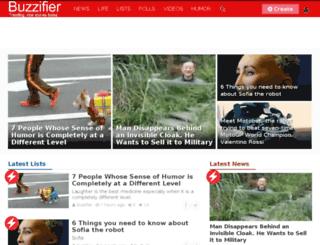 buzzifier.com screenshot