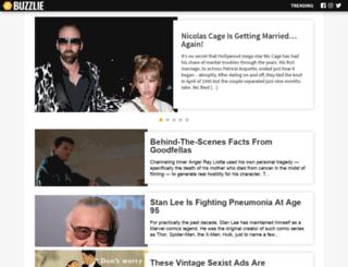 buzzlie.com screenshot