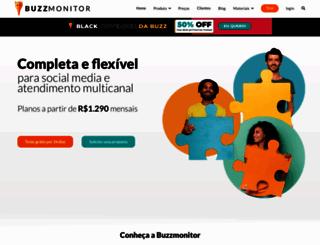 buzzmonitor.com.br screenshot