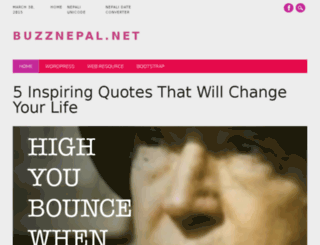 buzznepal.net screenshot