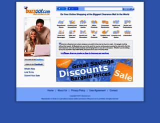 buzzoot.com screenshot
