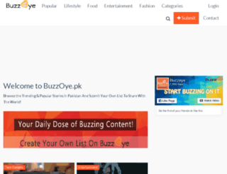 buzzoye.pk screenshot