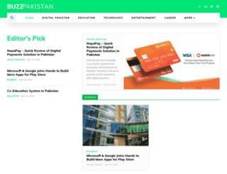 buzzpakistan.com screenshot