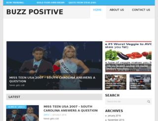 buzzpositive.com screenshot