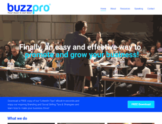 buzzpro.com screenshot