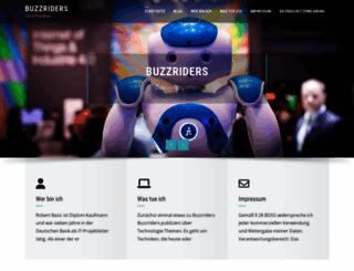 buzzriders.com screenshot