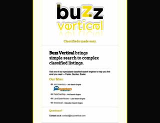 buzzvertical.com screenshot