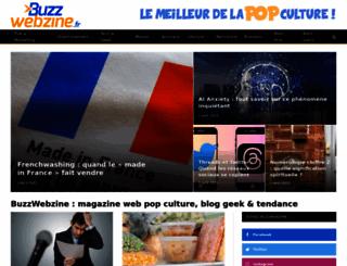 buzzwebzine.fr screenshot
