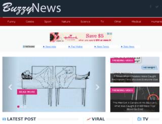 buzzynews.net screenshot
