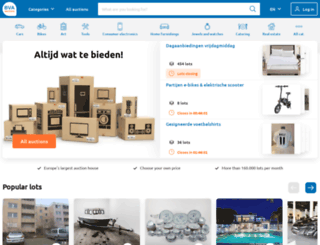 bva-auctions.nl screenshot