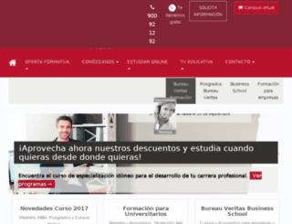 bvbusiness-school.com screenshot