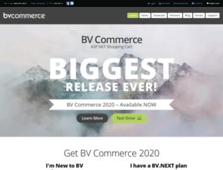 bvcommerce.com screenshot