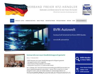 bvfk.de screenshot