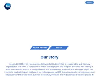 bvgindia.com screenshot