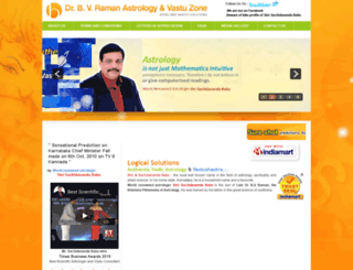 bvramanastrovastu.com screenshot
