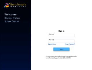 bvsd.benchmarkuniverse.com screenshot