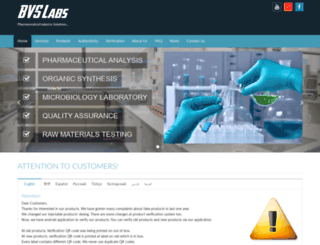 bvslabs.com screenshot