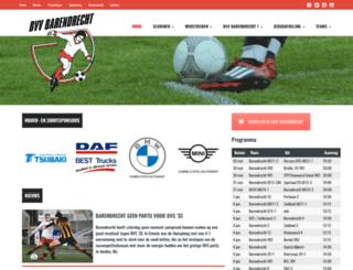 bvvbarendrecht.nl screenshot