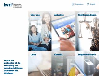 bvzi.de screenshot