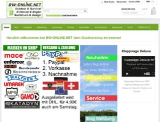 bw-online.net screenshot