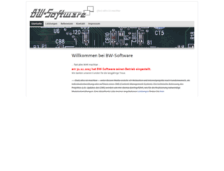 bw-software.de screenshot