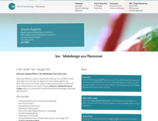 bw-webdesign-hannover.de screenshot