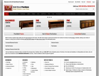 bwfurniture.com.au screenshot