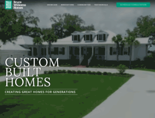 bwhomes.com screenshot