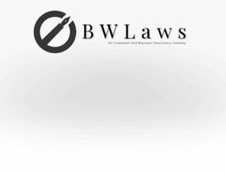bwlaws.com screenshot