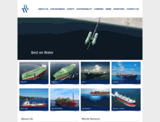 bwmaritime.com screenshot