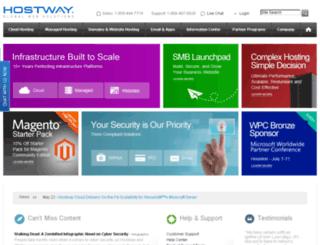 bwp.hostway.com screenshot