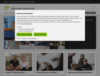 bwp.htw-berlin.de screenshot