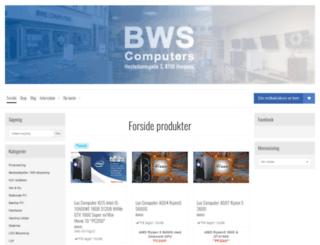 bwsbutik.dk screenshot