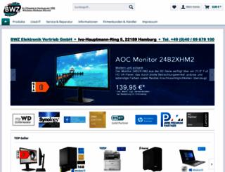 bwz.de screenshot