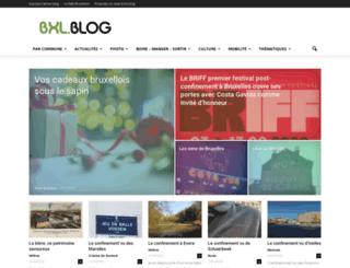 bxlblog.be screenshot