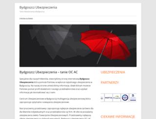 bydgoszczubezpieczenia.pl screenshot