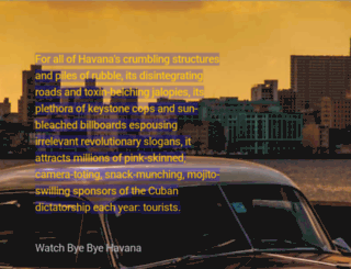 byebyehavana.com screenshot