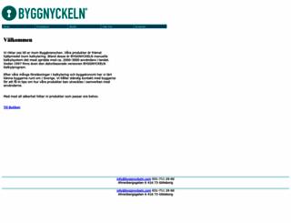 byggnyckeln.com screenshot