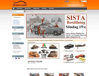 byggsatser.brommahobby.com screenshot