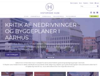 bygningskultur.dk screenshot
