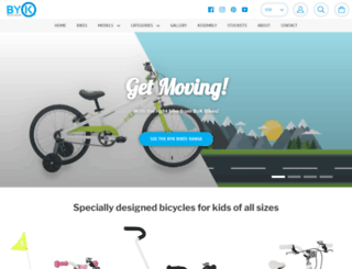 bykbikes.com screenshot