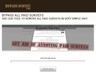 bypass-survey.com screenshot