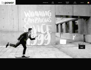 bypowermedia.com screenshot