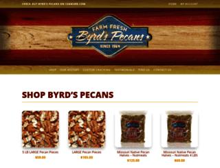 byrdspecans.com screenshot