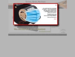 byrnesmodelmachines.com screenshot