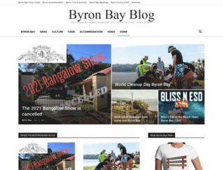 byronbayblog.com.au screenshot