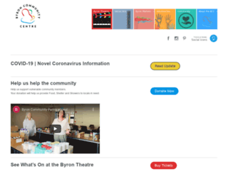 byroncentre.com.au screenshot