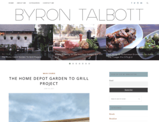 byrontalbott.com screenshot