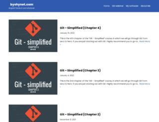 byshynet.com screenshot