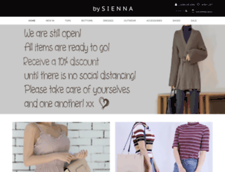 bysienna.com.au screenshot
